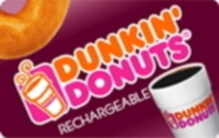 Discounted Dunkin' Donuts Gift Cards