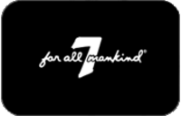 Discounted 7 For All Mankind Gift Cards