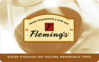 Discounted Fleming's Steakhouse Gift Cards