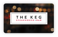 Discounted The Keg Steakhouse  Gift Cards