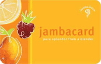 Discounted Jamba Juice Gift Cards