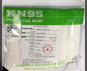 Caja de 10 Mascarillas KN95  con Valvula