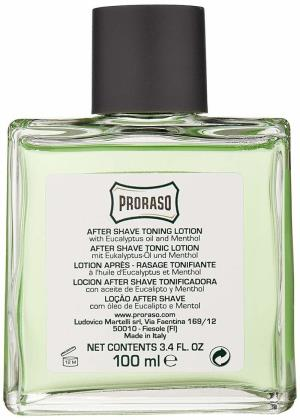PRORASO EUCALYPTUS AFTERSHAVE LOTION 100ml  PRODUCTO PREMIUM