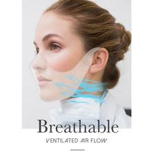 Mascarilla Fasial Transparente, Anti-Fog Full Covering Clear Safety Face Masks Reusable and Cleanable for Men & Women, Deaf and Hard of Hearing.