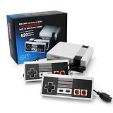 620 Classic Retro Game Console with Built-in 620 Games and 2 Handheld Classic Controllers AV Output Video Games for Kids Gift Birthday Gift