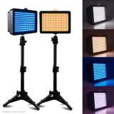 2 PCS VIDEO LIGHT LIGHTING KIT PARA CANON, NIKON, SONY DSLR CN-160 LED PHOTO