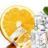Líquido para cigarros electrónicos de vapor E-liquid naranja con menta de 30 ml   Nicotina 18 mg(Medio)