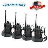 WALKIE TALKIE BAOFENG 4PCS BF-888S con antorcha LED incorporada (paquete de 4)