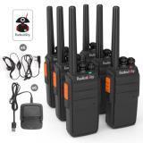 6X RADIODDITY R2 UHF 16CH WALKIE TALKIE SCRAMBLER FUNCIÓN RADIO DE DOS VÍAS