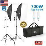 700W SOFT BOX FOTOGRAFÍA KIT DE ILUMINACIÓN STUDIO PHOTO LIGHT W/BOLSA Y SOPORTE DE ILUMINACIÓN