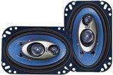 Pyle PL463BL 4-Inch x 6-Inch 240 Watt Three-Way Speakers