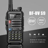 BAOFENG UV-S9 POTENTE WALKIE TALKIE DE DOBLE BANDA DE 8 W RADIO BIDIRECCIONAL DE LARGO ALCANCE NEGRO