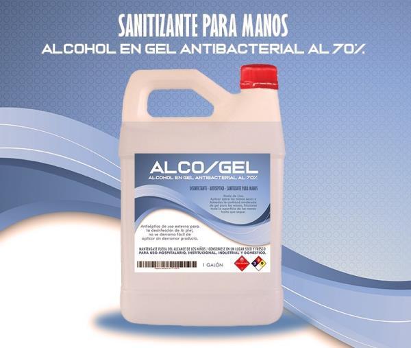 Alcohol Gel (1 galón)