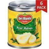 Paquete de 6: Peras En Almibar Del Monte 8.5 Onzas
