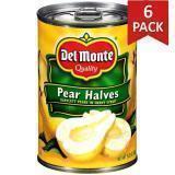 Paquete de 6: Peras En Mitades Del Monte 15.25 Onzas