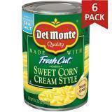 Paquete de 6: Maiz En Crema Del Monte Lata 14 3/4 Onzas