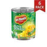 Paquete de 6: Elote Dorado En Grano Del Monte 225 Gramos