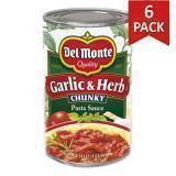 Paquete de 6: Salsa Ajo y Hierbas Del Monte 24 Onzas
