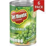 Paquete de 6: Chicharos 410 G Del Monte