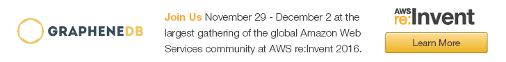 Meet GrapheneDB at AWS re:Invent 2016