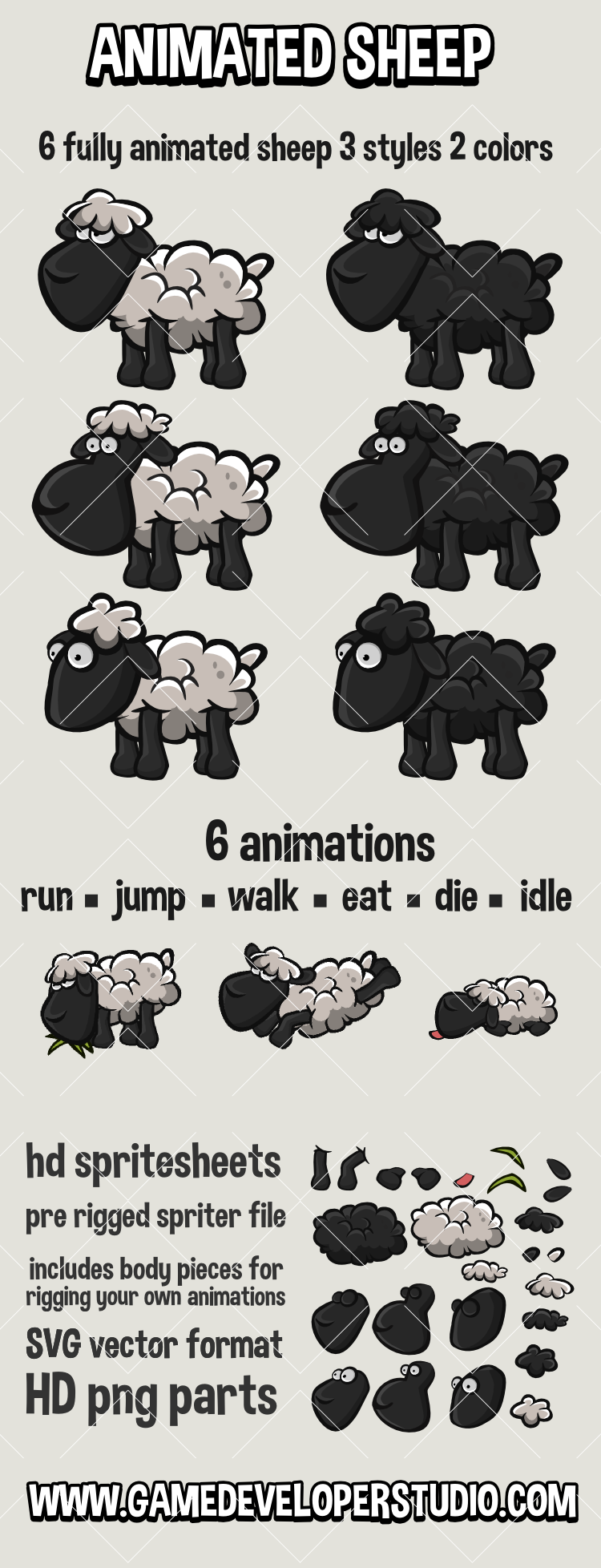 animated   sheep