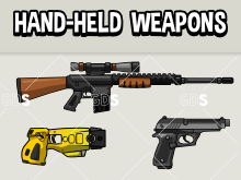 10 hand weapons