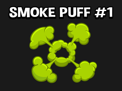 2d Smoke puff effect