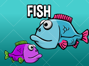 2d fish game asset