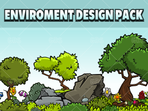 2d game enviroment design pack