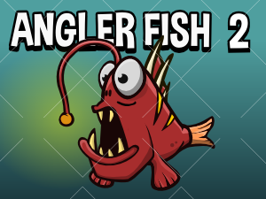 Angler fish game sprite