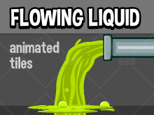 Animated Running liquid