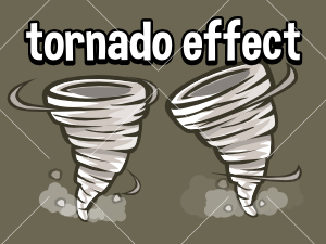 Animated Tornado  effect