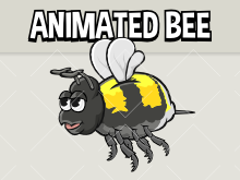 Animated bee