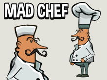 Animated chef sprite