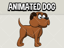 Animated dog