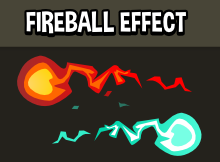 Animated fireball