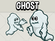 Animated ghost sprite