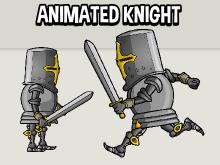 Animated knight