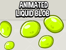 Animated liquid globule