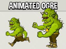 Animated ogre