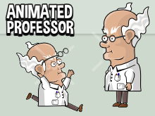 Animated professor