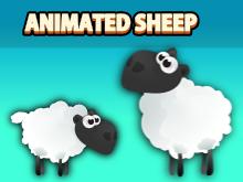 Animated sheep sprite