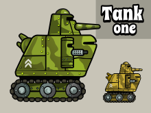 Animated tank 1