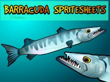 Barracuda spritesheet