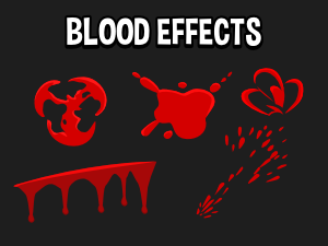 Blood sprite effects