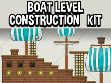 Boat level construction kit
