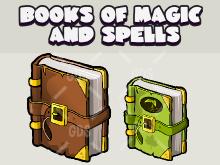 Books of magic and spells