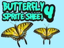 Butterfly sprite four