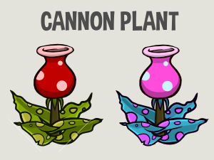 Canon plant game asset