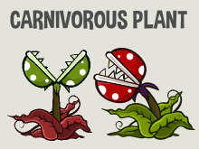 Carnivorous plant game asset